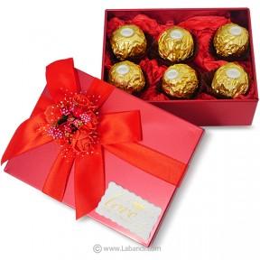 Box of Ferrero 6pcs (RED)