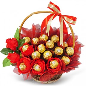 Basket of Ferrero (16pcs)...