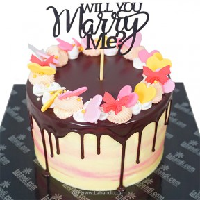Will You Marry Me Cake - 2.8lb