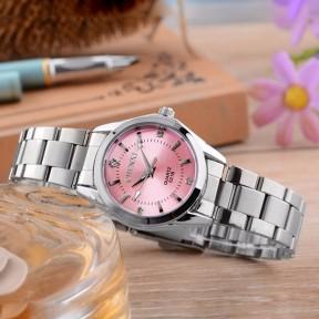 CHENXI Silver Wrist Watch