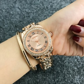 Luxury Rose Gold Ladies Watch