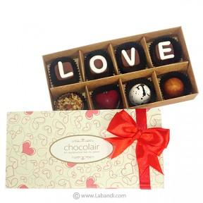 LOVE 8 Piece Chocolate Box