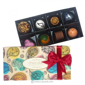 Assorted 8 Piece Chocolate Box