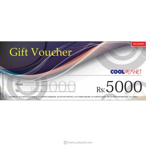Cool Planet Gift Voucher...