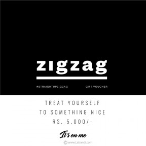 ZIGZAG Gift Voucher -Rs 5000