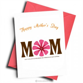 Card For MOM -25