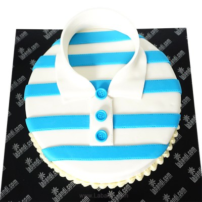 Stripe Shirt Cake - 3.3lb