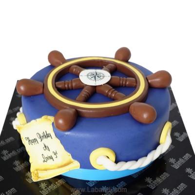 Ship's Wheel Cake - 4.6lbs