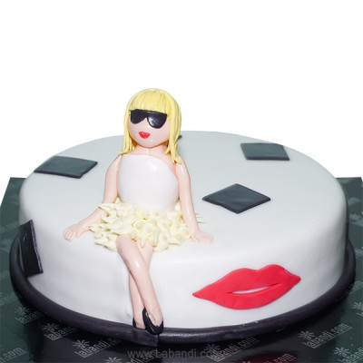Girl's Story Cake - 2.2lbs...