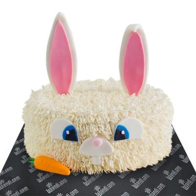 Bunny Ribbon Cake