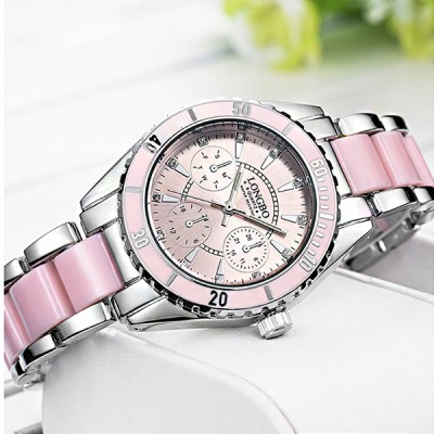 LONGBO Brand Watch - Pink