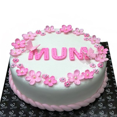 I LOVE YOU MUM Cake at...