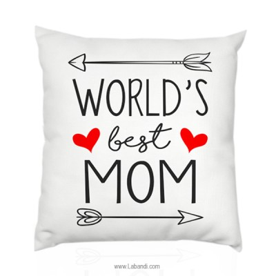 "World's Best mom Pillow 18""..."