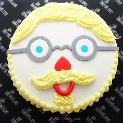 His Face Cake 2.2lb (1Kg)
