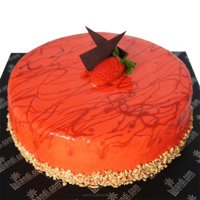 Strawberry Cake - 2.2lb