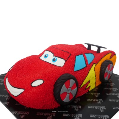 3D Macqueen Car Cake