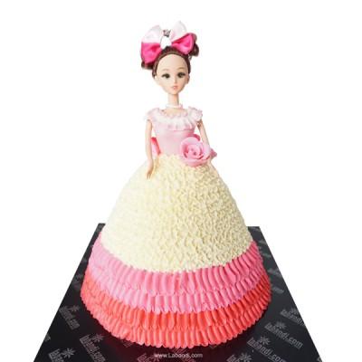 Picky Doll Cake