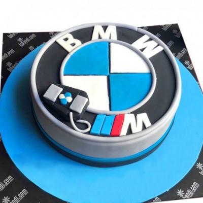 I Love BMW Cake