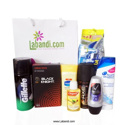 Men's toiletries Pack