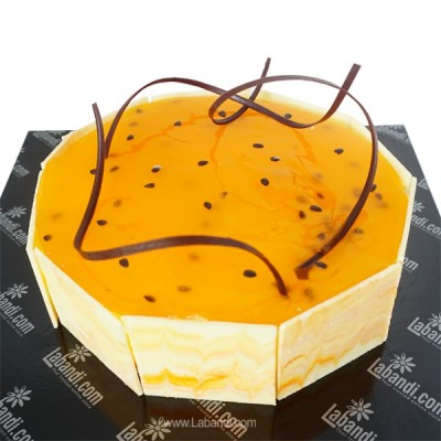 Cold Passion fruit Cheesecake