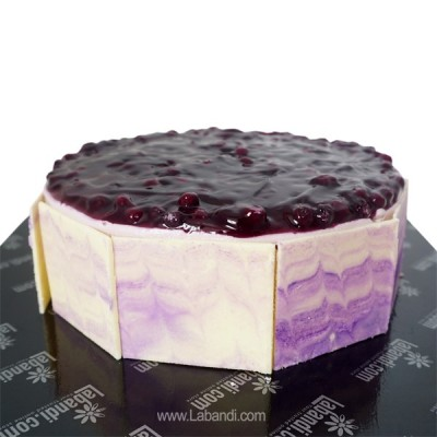 Cold Blueberry Cheesecake
