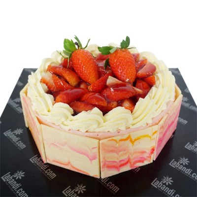 Cold Strawberry Cheesecake