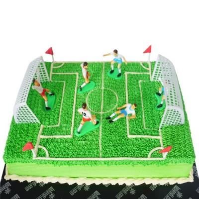 Football Playground cake