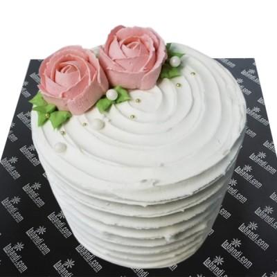 You and me Rose Cake