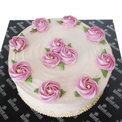 Pink Romance Cake
