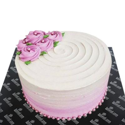 Pink Love Rose Cake - 1.6lbs