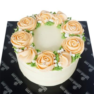 Light Rose Delight Cake -...