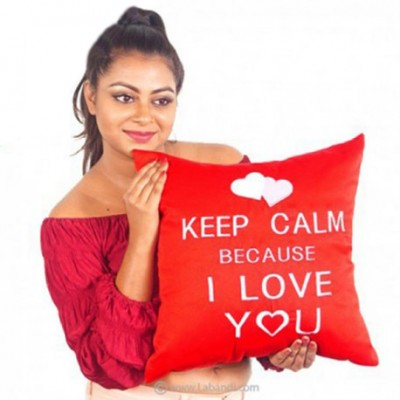 Keep Calm Cushion Pillow
