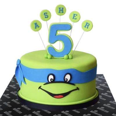 Ninja Leo Cake