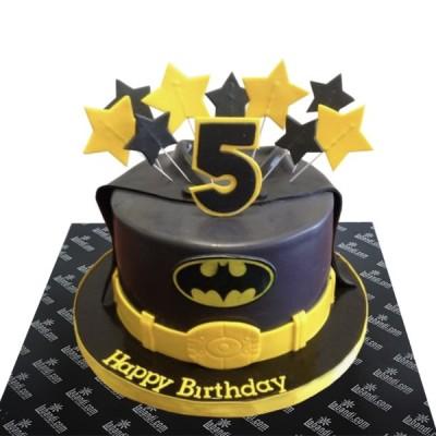 Batman Theme Cake