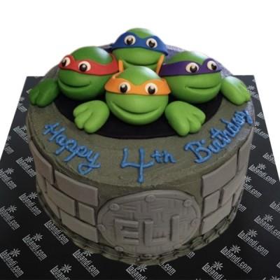 Ninja Turtle Cake - 4.4lb