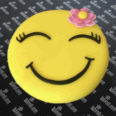 Happy Smile EMOJI Cake