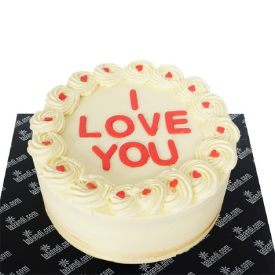 Love you Creamy Cake - 2.2lb