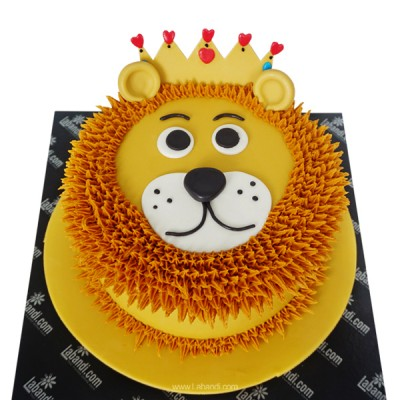 My Happy Lion Cake