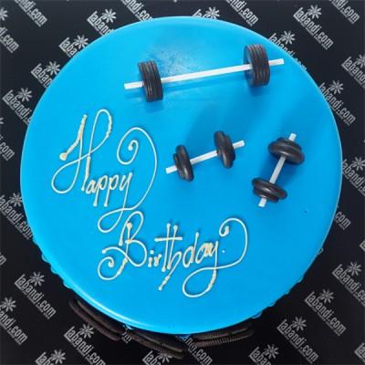 Gym Life Cake