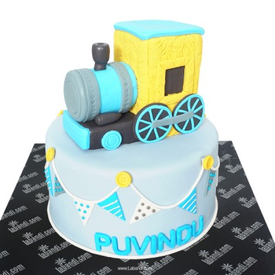 Train Simulator Cake