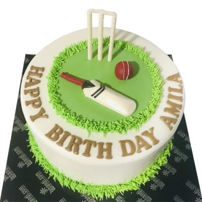 Cricket Fever Cake