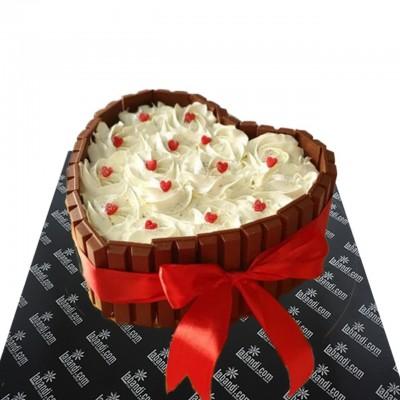 Choco Heart Wish Cake
