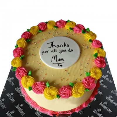 Thank You Mom Cake