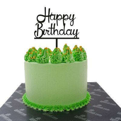 Green Crush Cake