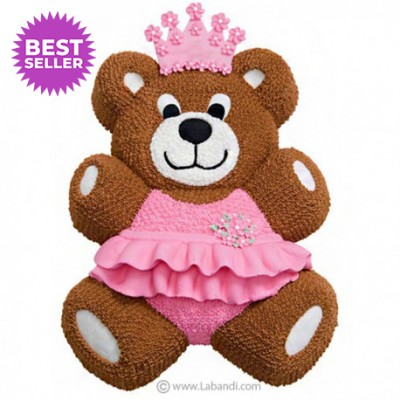 Bear Princess Cake