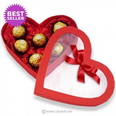 Ferrero Red Heart Box