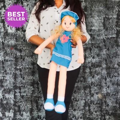 Blue Princess Doll