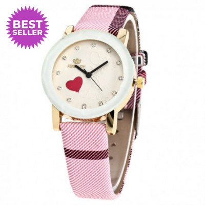 Simple Heart Leather Strap...