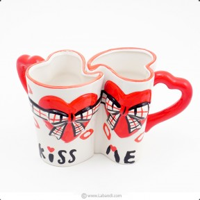 Kiss Me Couple Mugs