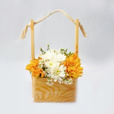 Hanging Marigold Basket -...
